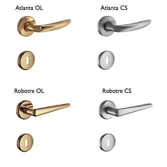Accessori for Maniglie porte oro